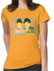 Laurel & Hardy Womens Fitted T-Shirt
