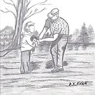 """In The Moment """"Grandpa And I"""" by medlinart"""