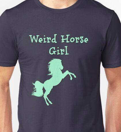 Weird Horse Girl Unisex T-Shirt