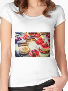 Paris Sweets Women's Fitted Scoop T-Shirt