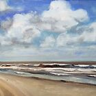 North Sea Scape by Christel  Roelandt
