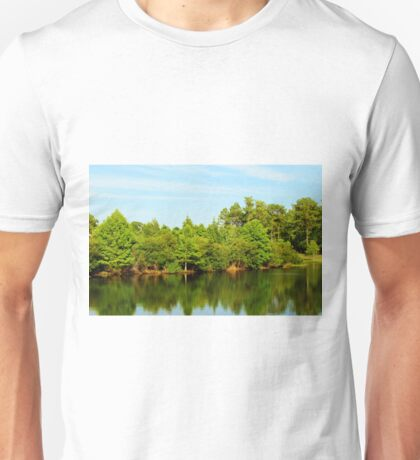 Green Tree Reflections Unisex T-Shirt
