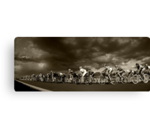 Ride on Canvas Print