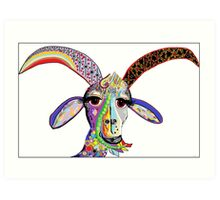 Somebody Get Your Goat? Art Print