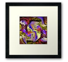 Somewhere- Abstract ART+Product Design Framed Print