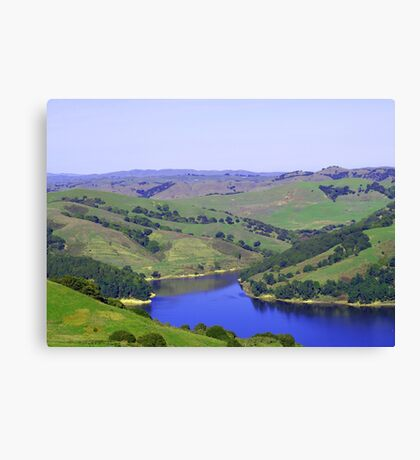 Rolling Green Hills Canvas Print