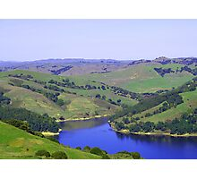 Rolling Green Hills Photographic Print