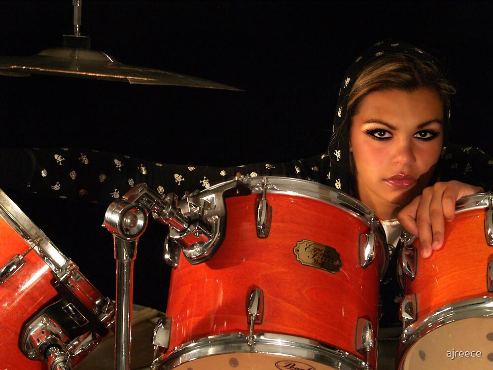 Drummer Girl by ajreece