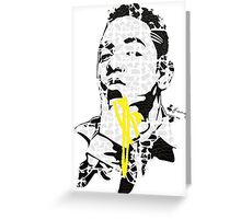Kendrick Lamar - The HipHop Show Greeting Card