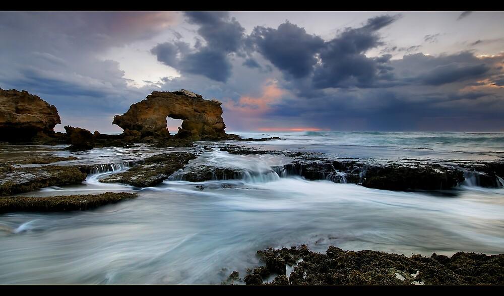 Rock Arch Tide by Robert Mullner