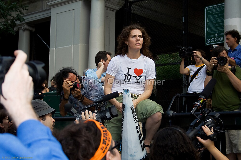 Picture New York Rally by Judith Oppenheimer