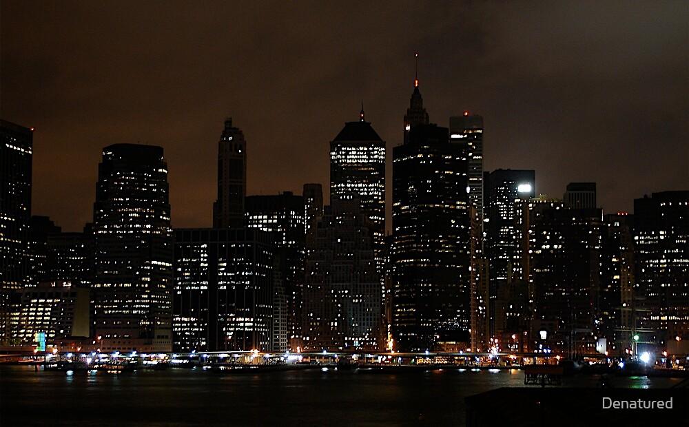 Manhattan, From Brooklyn by Denatured