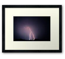 wishbone Framed Print