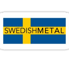 Swedish Metal Sticker
