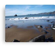 Wet Beach Canvas Print