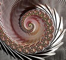 FRACTAL ART, spun glass look, 3D by ackelly4