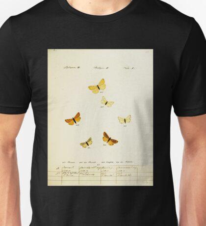 Jacob Hübner's papilio 1841 060 Unisex T-Shirt