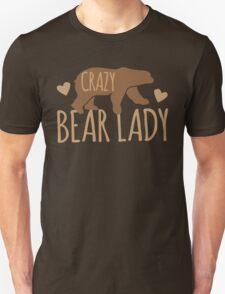 Crazy Bear lady Unisex T-Shirt