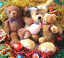 Seasons Greetings From Teddy and his Friends by Virginia McGowan
