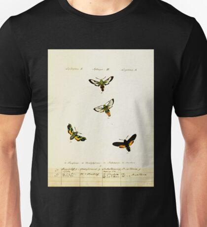 Jacob Hübner's papilio 1841 009 Unisex T-Shirt