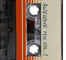 Awesome Mix Vol 1 - Phone Case by Joefishjones .