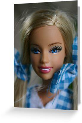 I'm a barbie girl by christhepostman