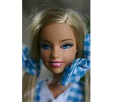 I'm a barbie girl Photographic Print