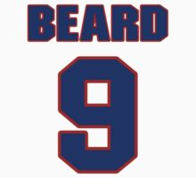 Basketball player Butch Beard jersey 9 by imsport