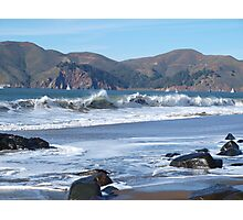 Crisp San Francisco Waves Photographic Print