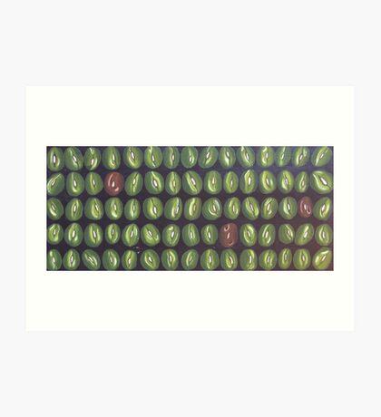 full of beans Art Print