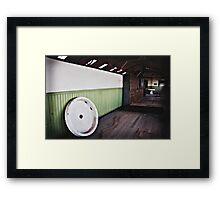 The Magritte Locker Room Framed Print