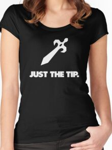 Just the Tip Women's Fitted Scoop T-Shirt