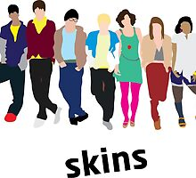 Skins Cast 1 by joshgluck