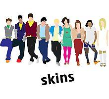 Skins Cast 1 Photographic Print