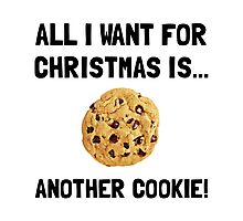 Christmas Cookie Photographic Print