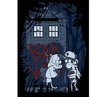 Bad wolf in Gravity falls Photographic Print