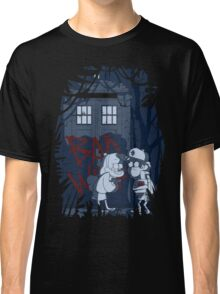 Bad wolf in Gravity falls Classic T-Shirt