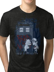 Bad wolf here? Tri-blend T-Shirt