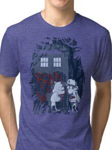 Bad wolf here? Tri-blend T-Shirt