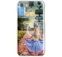 Back to Wonderland iPhone Case/Skin