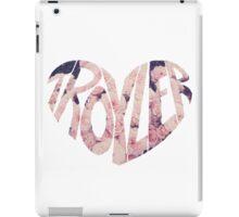 Troyler Tumblr OTP  iPad Case/Skin