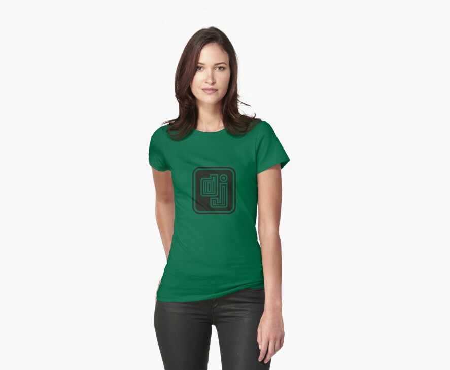 D-J by Awesome Rave T-Shirts