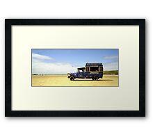 Icecream Van Framed Print