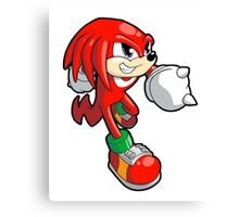 Sonic the Hedgehog - Knuckles Canvas Print