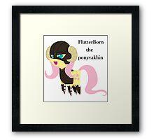 BBFFF Style Fluttershy, Skyrim version Framed Print