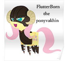 BBFFF Style Fluttershy, Skyrim version Poster