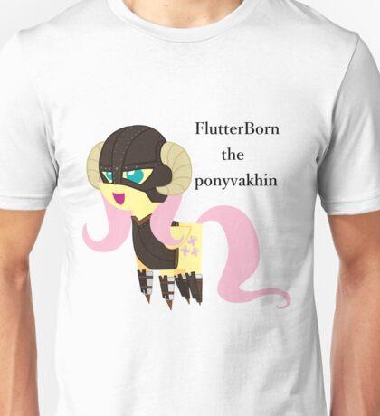 BBFFF Style Fluttershy, Skyrim version Unisex T-Shirt