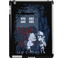 Bad wolf in Gravity falls iPad Case/Skin