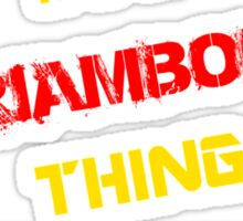It's a PRIAMBODO thing, you wouldn't understand !! Sticker
