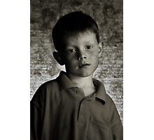 Boy Photographic Print